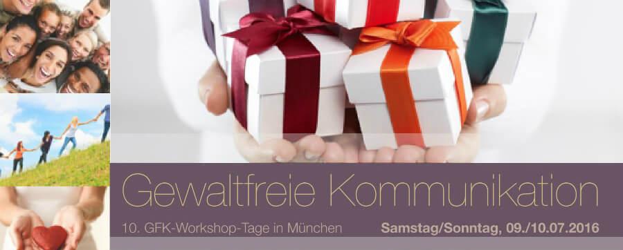 Vortrag auf den GFK-Workshop-Tagen in München